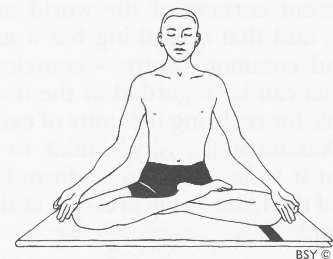 Half Lotus Pose