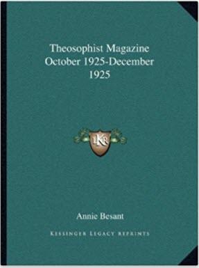 Theosophist 1925